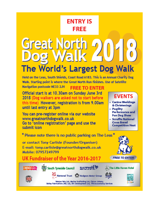 Gret north dog walk poster